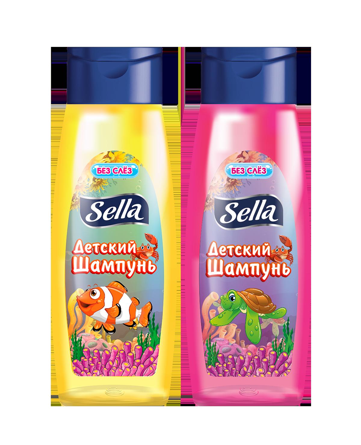 Sella-մանկական-շամպուն